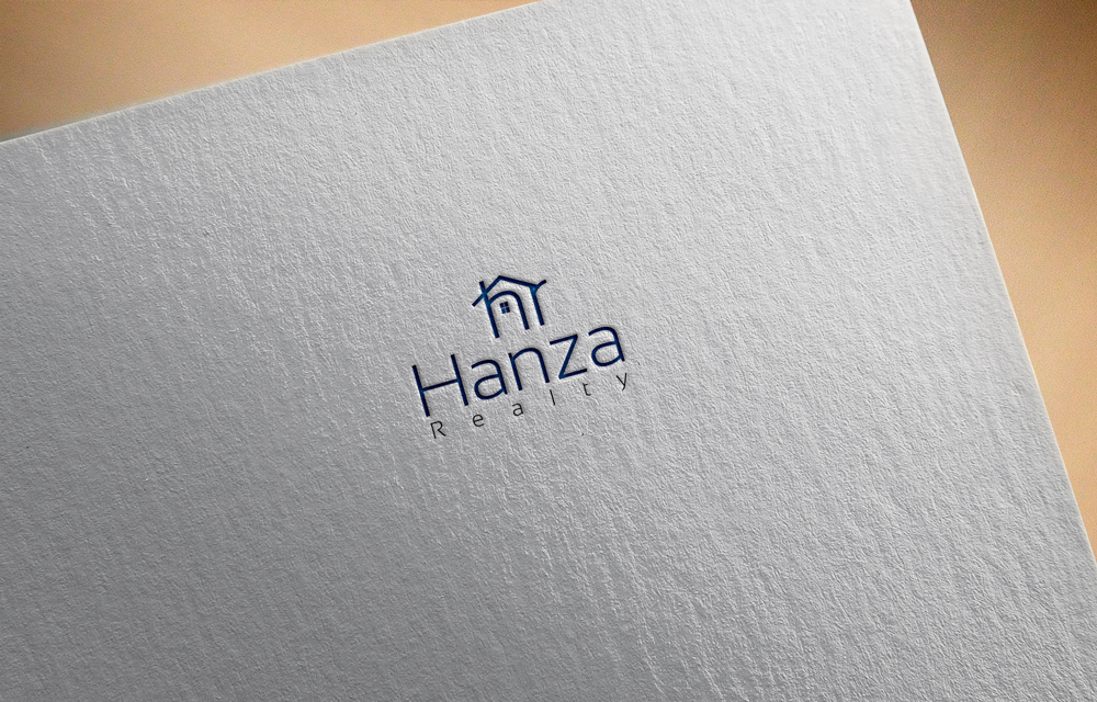 Logo Design by Lutful Ferdous - Entry No. 175 in the Logo Design Contest Logo Design for Hanza Realty.