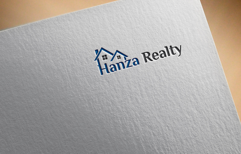 Logo Design by Mdkausar Hossain - Entry No. 177 in the Logo Design Contest Logo Design for Hanza Realty.