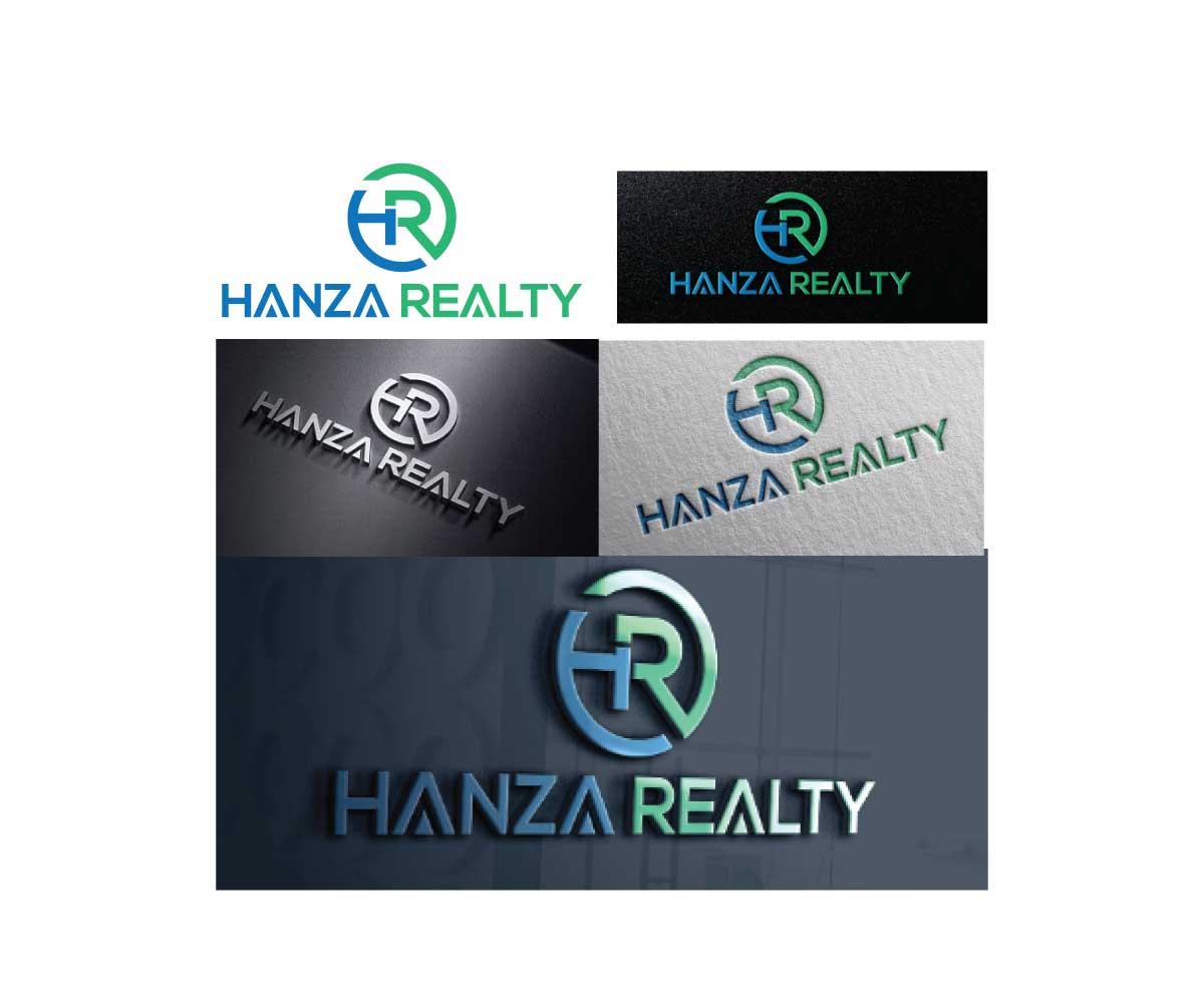 Logo Design by MAlamgir Hossain - Entry No. 186 in the Logo Design Contest Logo Design for Hanza Realty.