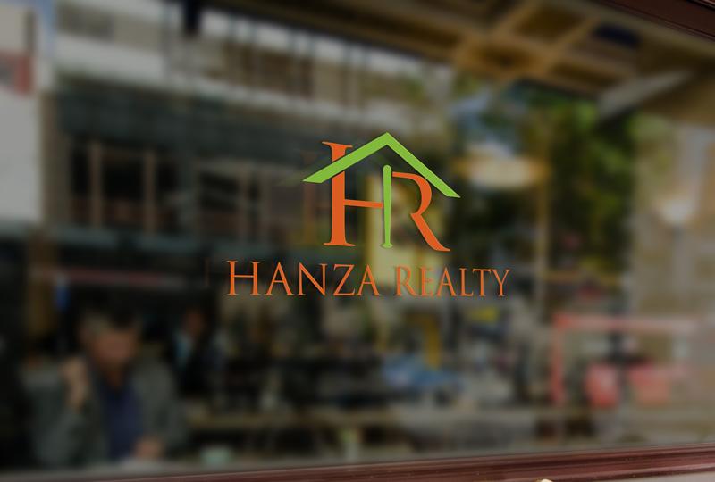 Logo Design by Sinthiya Omar - Entry No. 187 in the Logo Design Contest Logo Design for Hanza Realty.