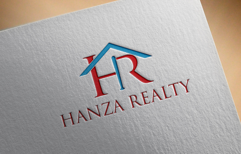 Logo Design by Sinthiya Omar - Entry No. 191 in the Logo Design Contest Logo Design for Hanza Realty.