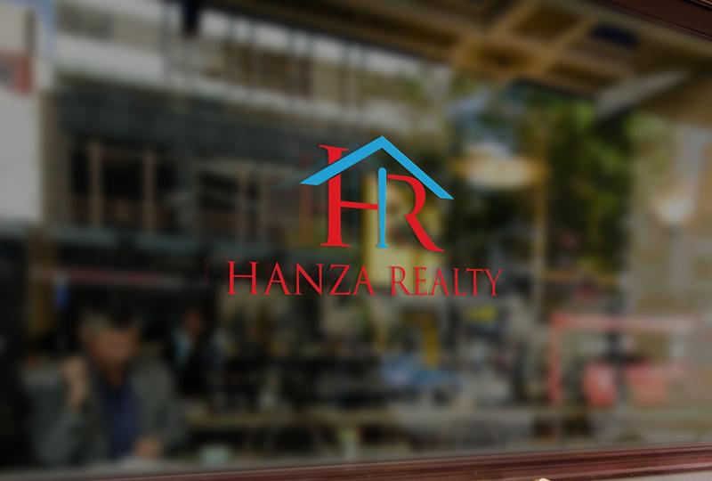 Logo Design by Sinthiya Omar - Entry No. 192 in the Logo Design Contest Logo Design for Hanza Realty.