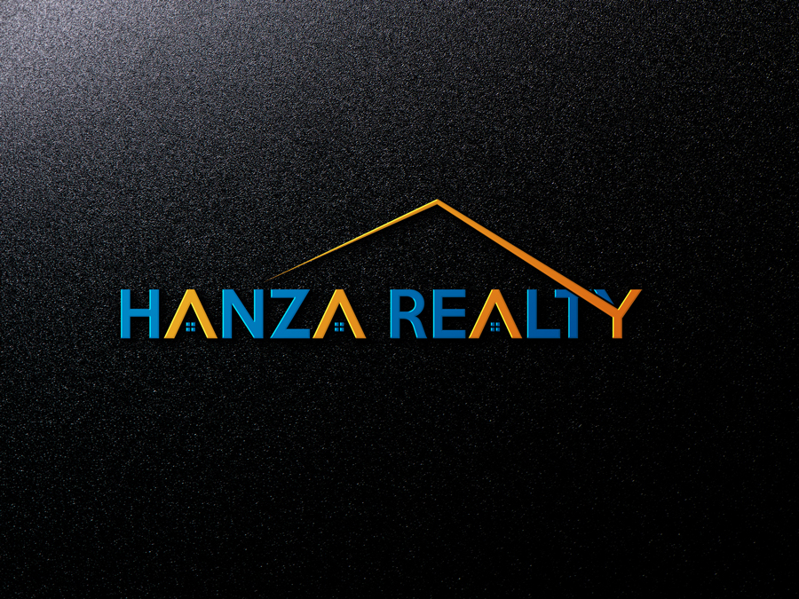 Logo Design by Abdur Rahman - Entry No. 194 in the Logo Design Contest Logo Design for Hanza Realty.