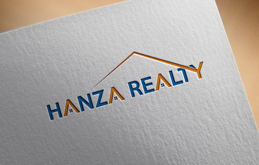 Logo Design by Abdur Rahman - Entry No. 198 in the Logo Design Contest Logo Design for Hanza Realty.