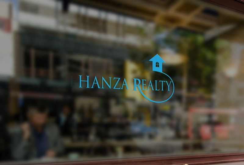 Logo Design by Sinthiya Omar - Entry No. 199 in the Logo Design Contest Logo Design for Hanza Realty.