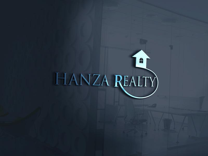 Logo Design by Sinthiya Omar - Entry No. 200 in the Logo Design Contest Logo Design for Hanza Realty.