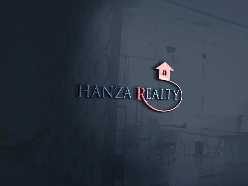 Logo Design by Sinthiya Omar - Entry No. 203 in the Logo Design Contest Logo Design for Hanza Realty.