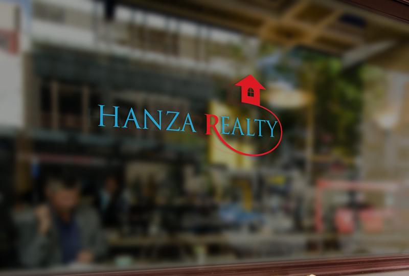 Logo Design by Sinthiya Omar - Entry No. 205 in the Logo Design Contest Logo Design for Hanza Realty.