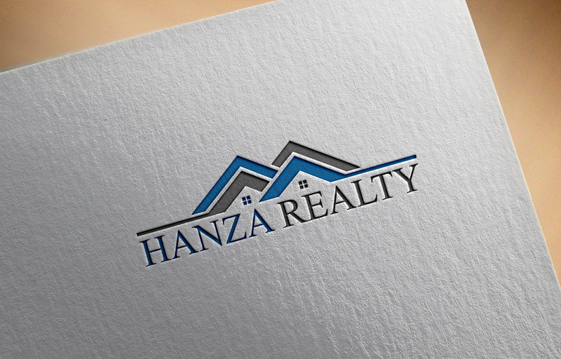 Logo Design by Taher Patwary - Entry No. 210 in the Logo Design Contest Logo Design for Hanza Realty.