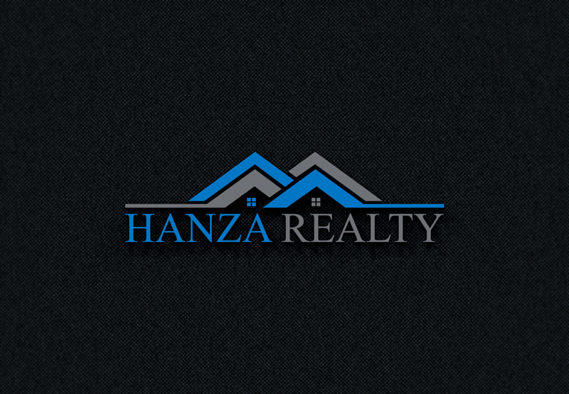 Logo Design by Taher Patwary - Entry No. 212 in the Logo Design Contest Logo Design for Hanza Realty.