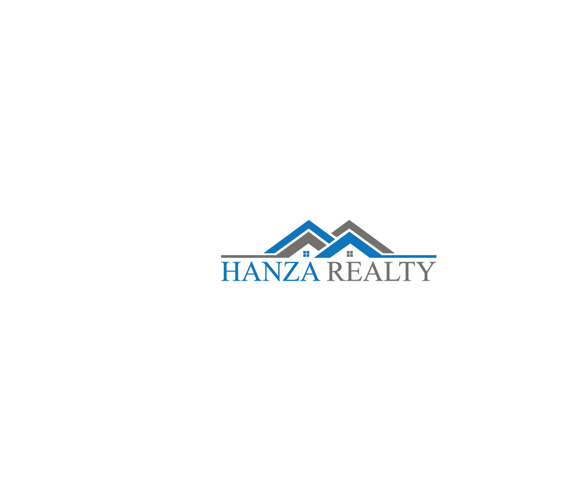 Logo Design by Taher Patwary - Entry No. 213 in the Logo Design Contest Logo Design for Hanza Realty.