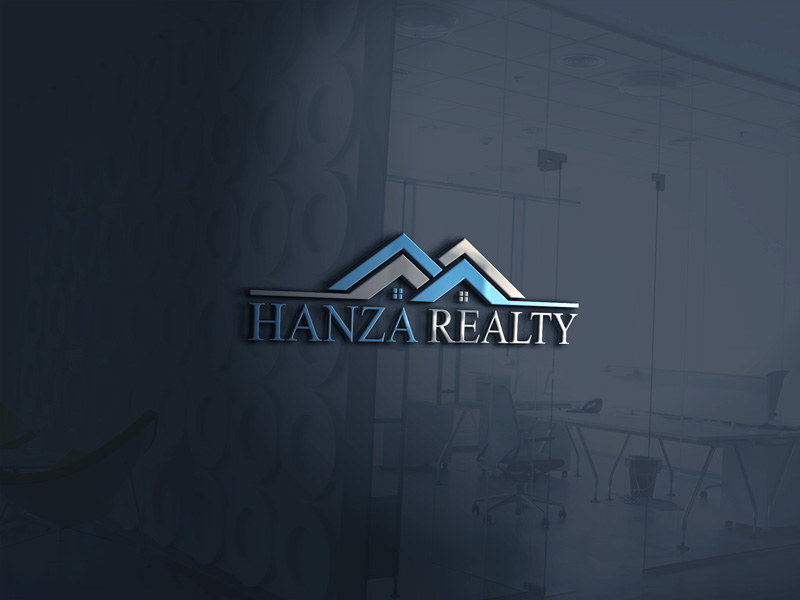 Logo Design by Taher Patwary - Entry No. 218 in the Logo Design Contest Logo Design for Hanza Realty.