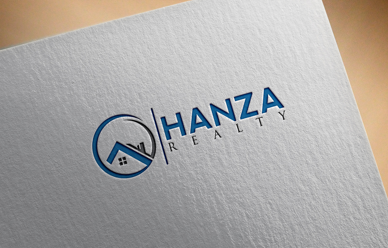 Logo Design by Taher Patwary - Entry No. 225 in the Logo Design Contest Logo Design for Hanza Realty.