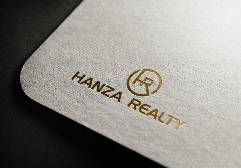 Logo Design by Maksud Rifat - Entry No. 228 in the Logo Design Contest Logo Design for Hanza Realty.