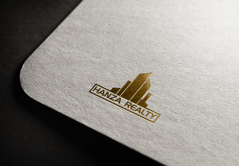 Logo Design by Maksud Rifat - Entry No. 229 in the Logo Design Contest Logo Design for Hanza Realty.