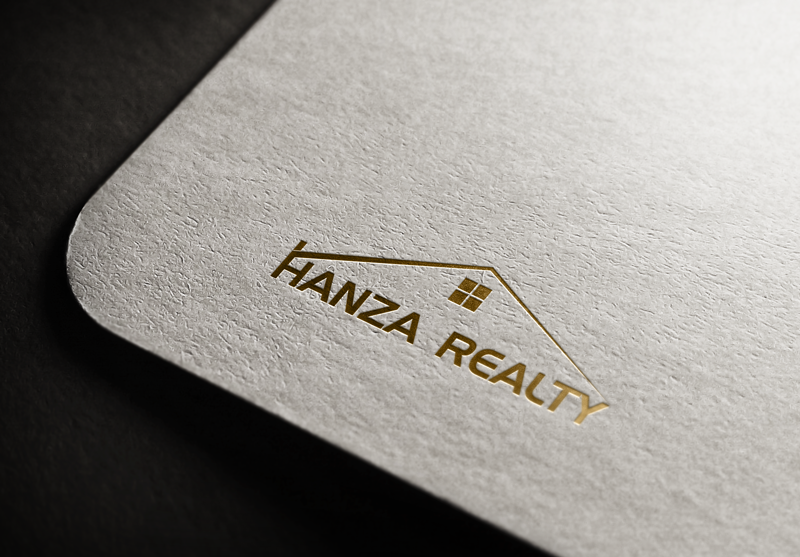 Logo Design by Maksud Rifat - Entry No. 231 in the Logo Design Contest Logo Design for Hanza Realty.