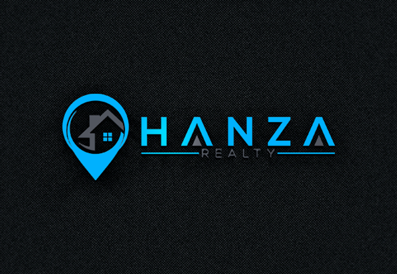 Logo Design by Ahmed Murad - Entry No. 235 in the Logo Design Contest Logo Design for Hanza Realty.