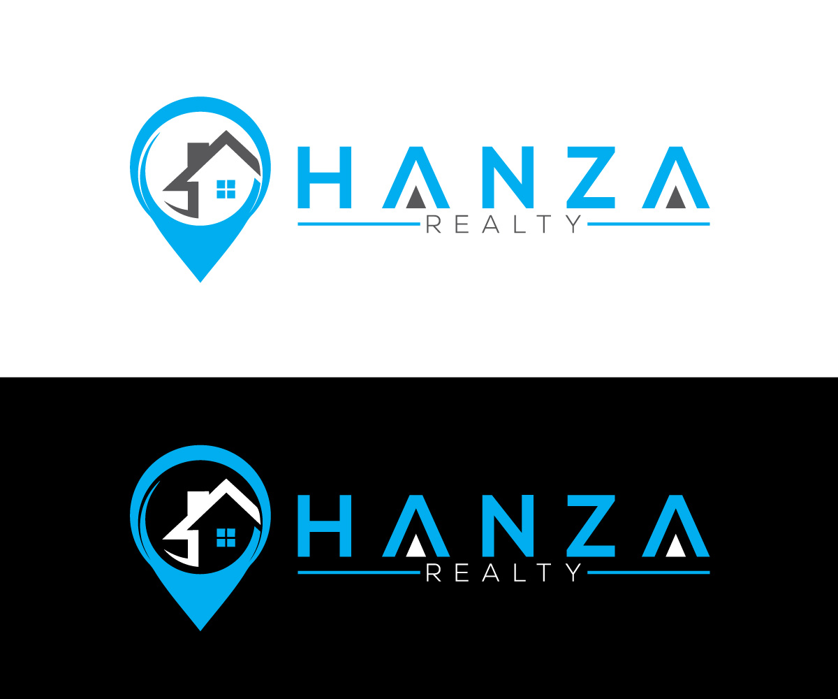 Logo Design by Ahmed Murad - Entry No. 239 in the Logo Design Contest Logo Design for Hanza Realty.