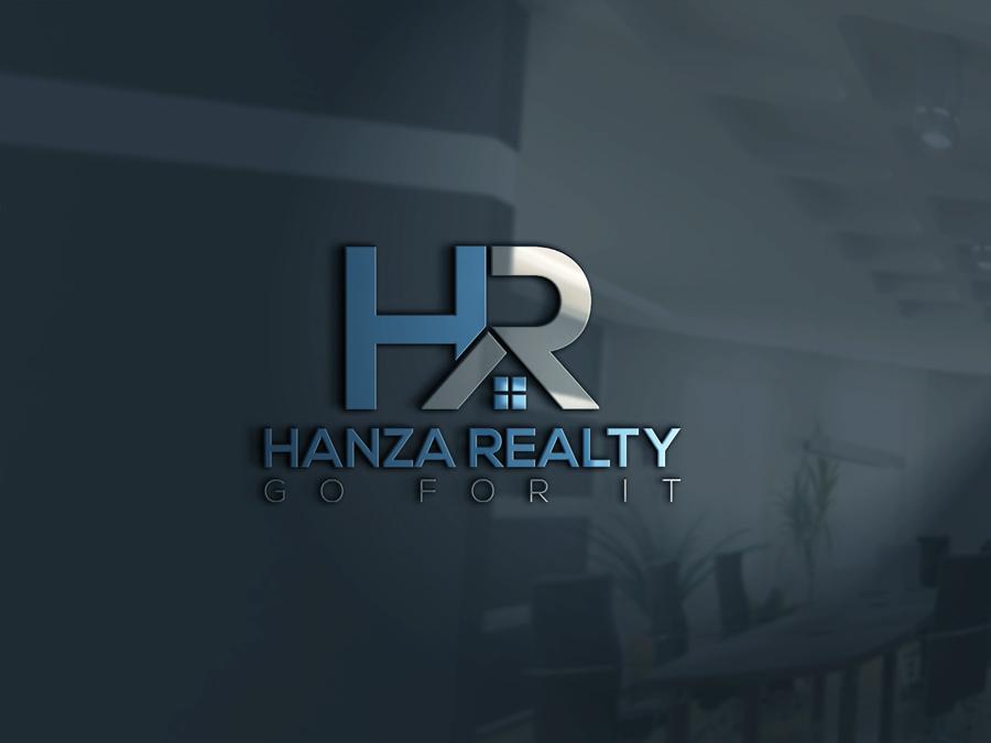 Logo Design by Shahriyar Shuvo - Entry No. 250 in the Logo Design Contest Logo Design for Hanza Realty.