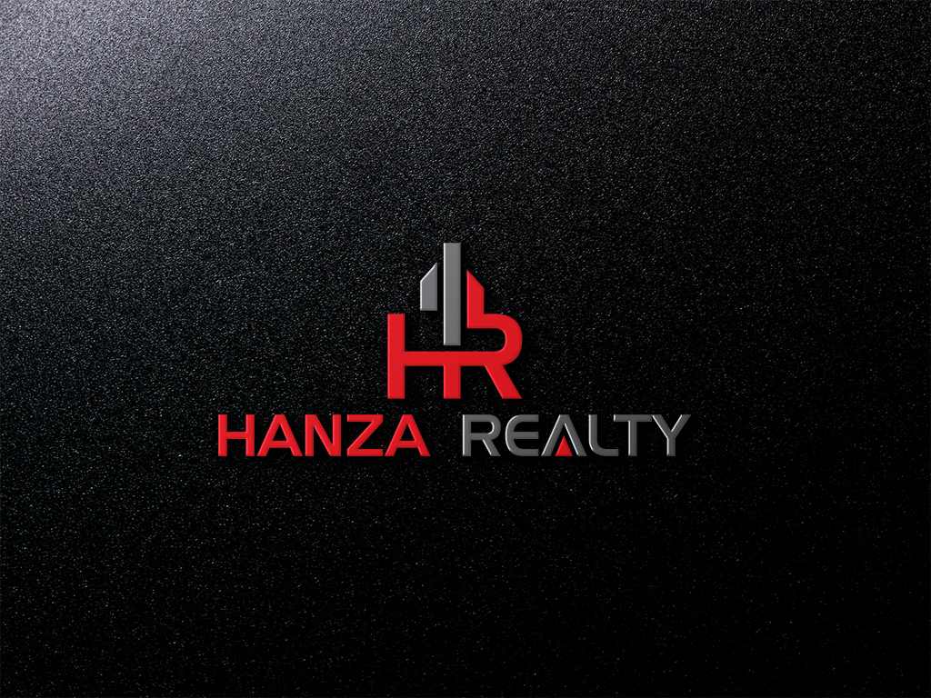 Logo Design by Omar Faruque - Entry No. 268 in the Logo Design Contest Logo Design for Hanza Realty.