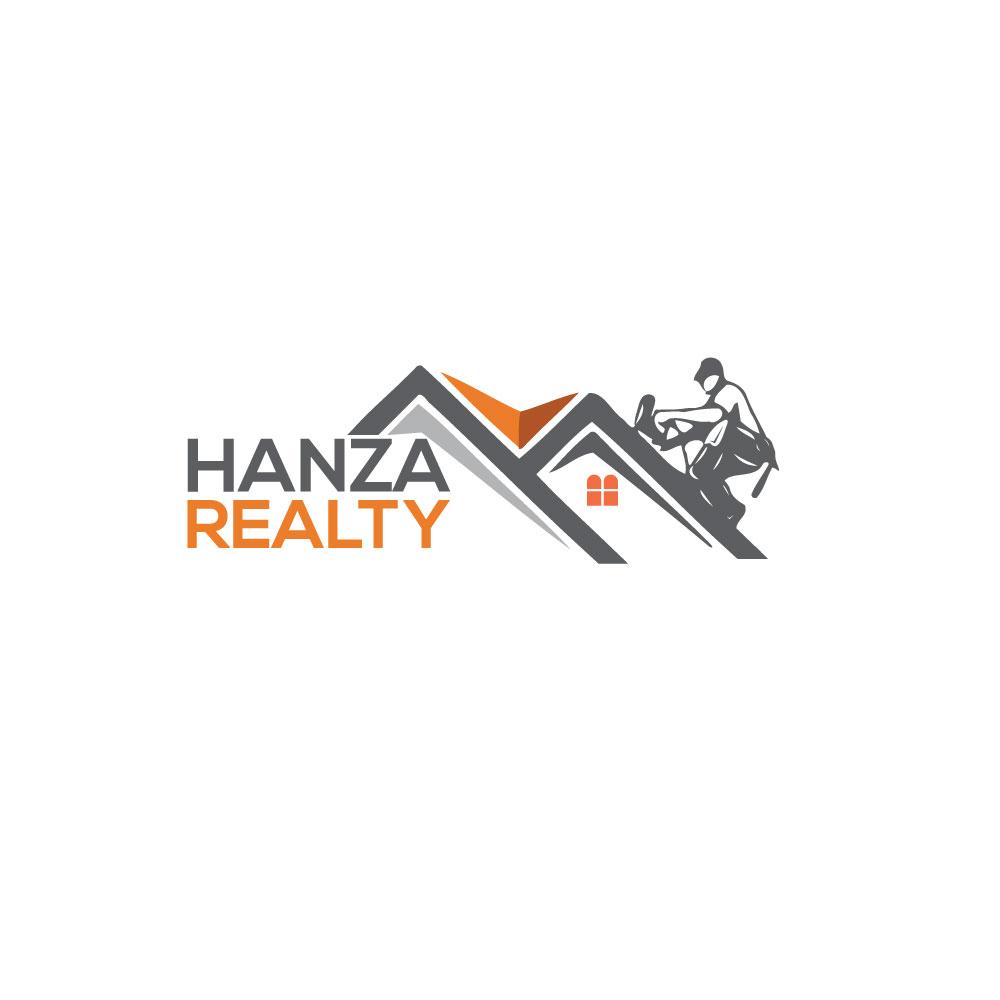 Logo Design by Abu Backar - Entry No. 274 in the Logo Design Contest Logo Design for Hanza Realty.