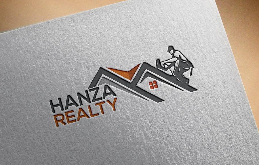 Logo Design by Abu Backar - Entry No. 276 in the Logo Design Contest Logo Design for Hanza Realty.