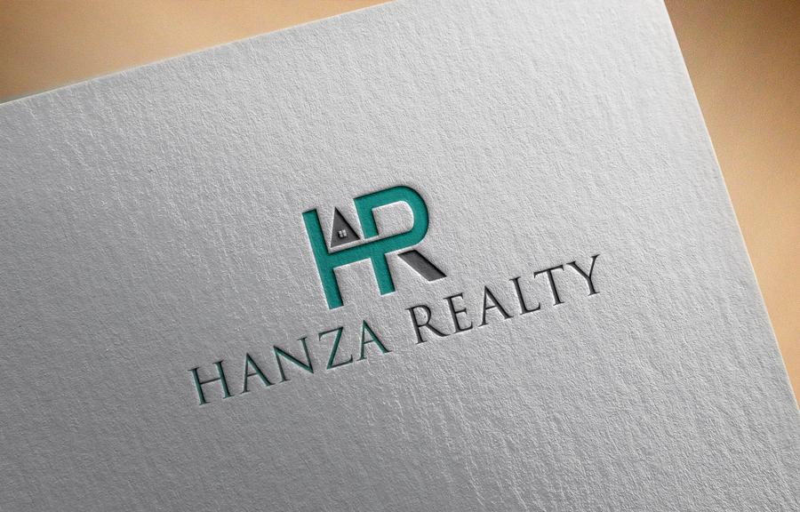 Logo Design by Sakib Al-fahad - Entry No. 280 in the Logo Design Contest Logo Design for Hanza Realty.
