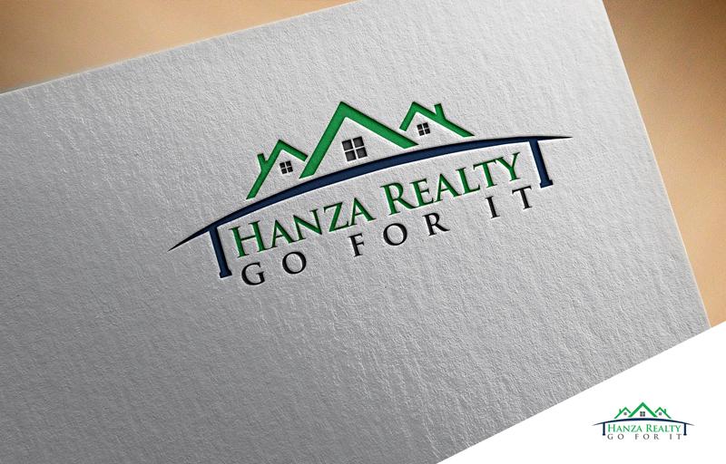 Logo Design by Mosharaf Karim - Entry No. 283 in the Logo Design Contest Logo Design for Hanza Realty.