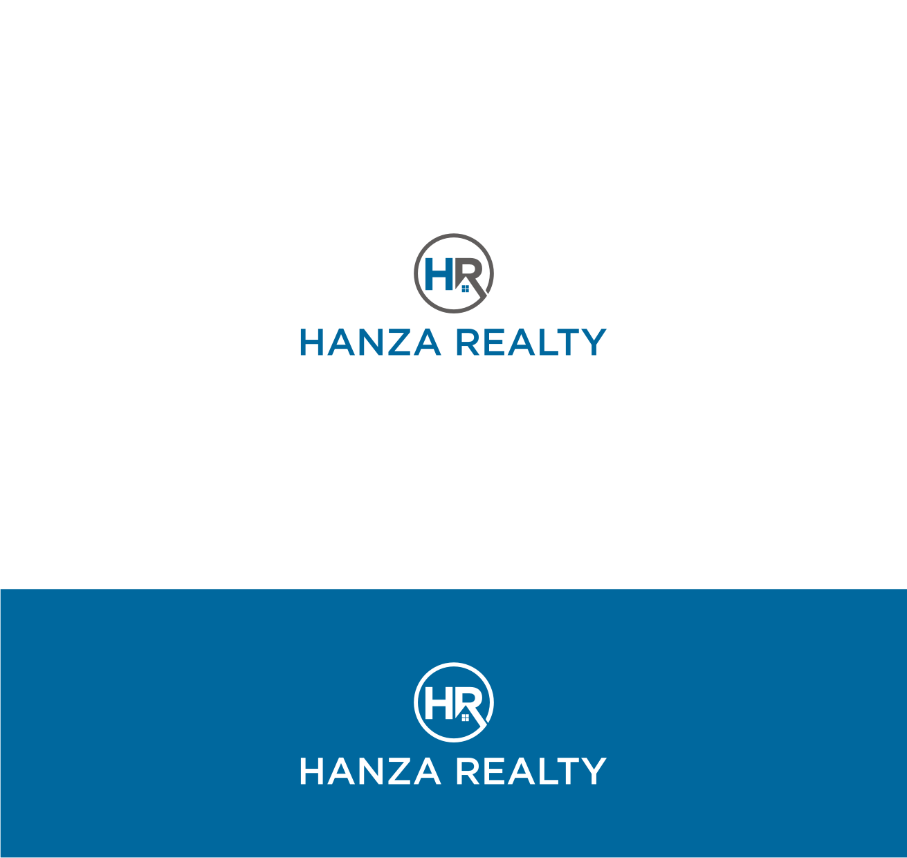 Logo Design by Sigitumarali Sigit - Entry No. 287 in the Logo Design Contest Logo Design for Hanza Realty.