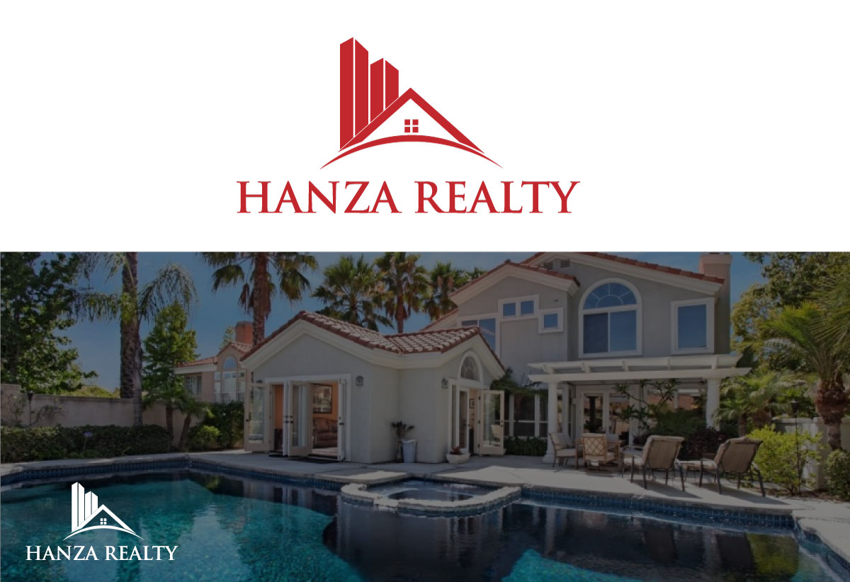 Logo Design by Kamrul Prodhan - Entry No. 289 in the Logo Design Contest Logo Design for Hanza Realty.