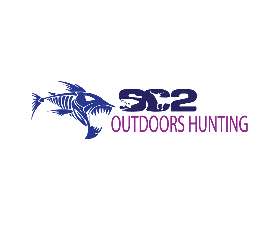 Logo Design by Private User - Entry No. 229 in the Logo Design Contest Imaginative Logo Design for SC2 Outdoors Hunting / Fishing Logo.