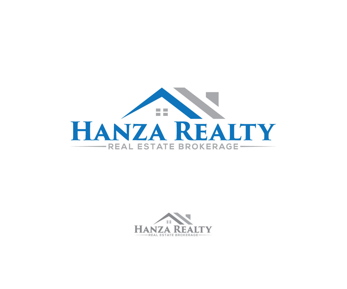 Logo Design by Istahak Ahmed - Entry No. 294 in the Logo Design Contest Logo Design for Hanza Realty.