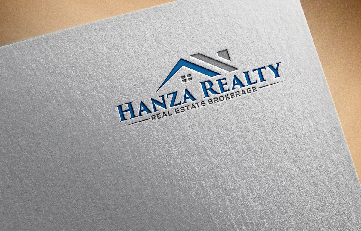 Logo Design by Istahak Ahmed - Entry No. 295 in the Logo Design Contest Logo Design for Hanza Realty.