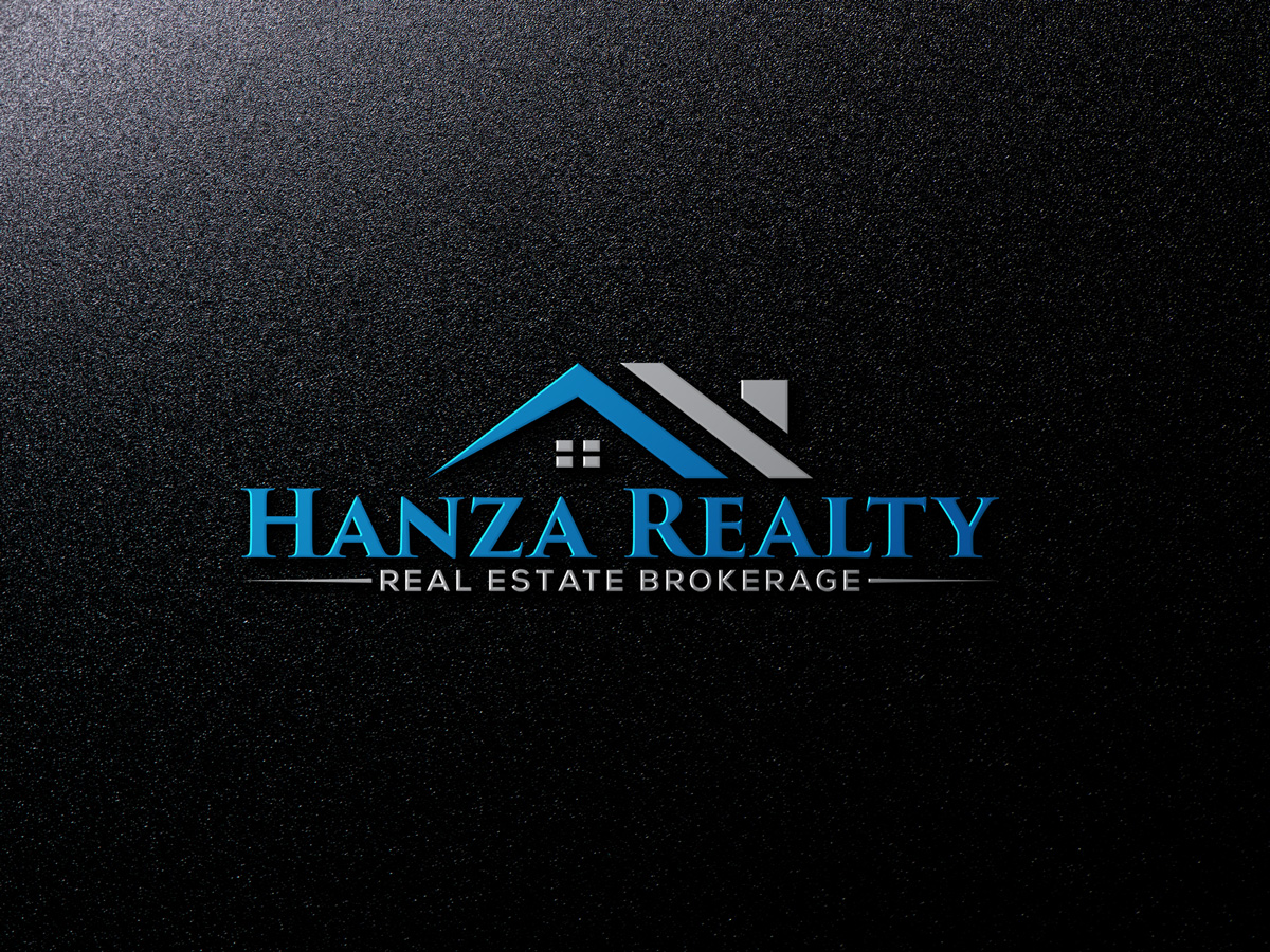Logo Design by Istahak Ahmed - Entry No. 296 in the Logo Design Contest Logo Design for Hanza Realty.