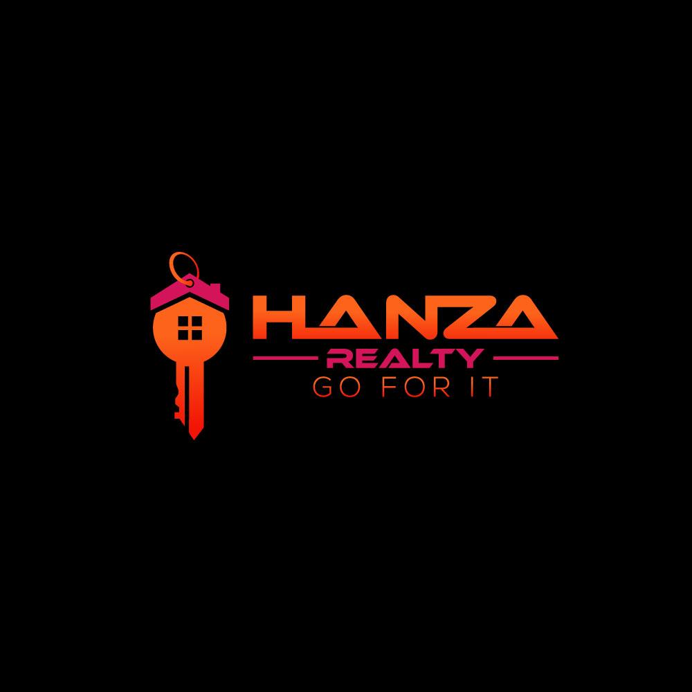 Logo Design by Easrat Jahan - Entry No. 305 in the Logo Design Contest Logo Design for Hanza Realty.