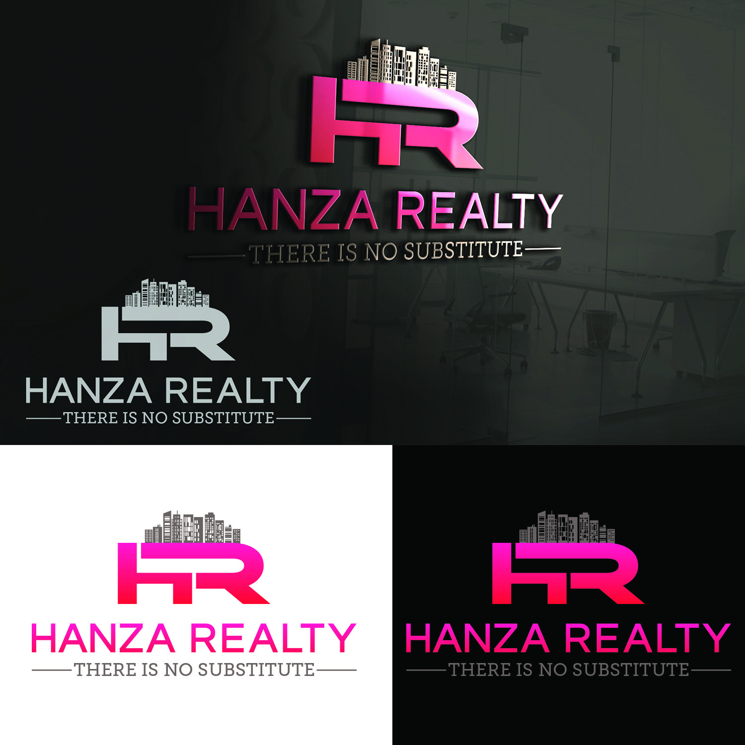 Logo Design by Umair ahmed Iqbal - Entry No. 316 in the Logo Design Contest Logo Design for Hanza Realty.