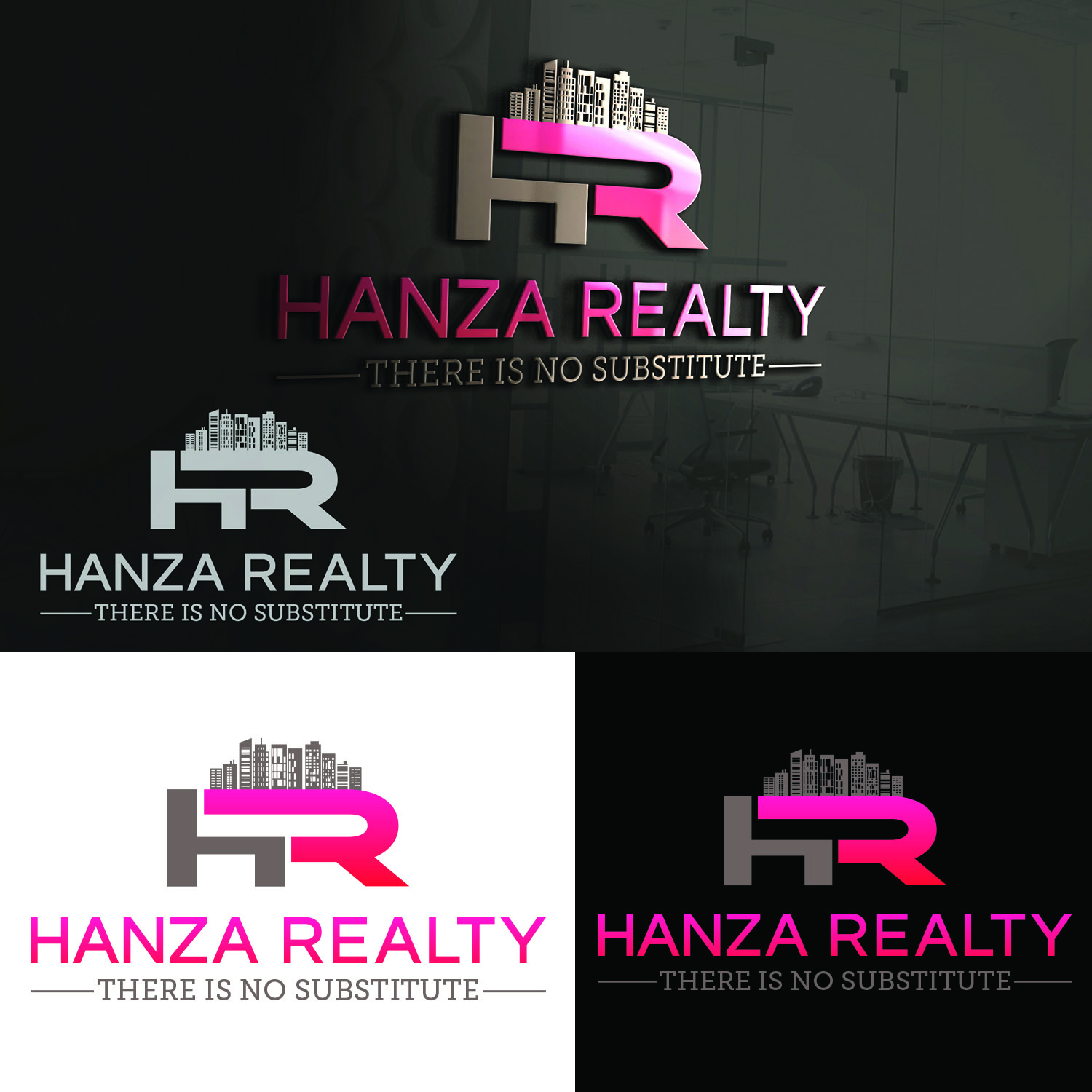 Logo Design by Umair ahmed Iqbal - Entry No. 317 in the Logo Design Contest Logo Design for Hanza Realty.