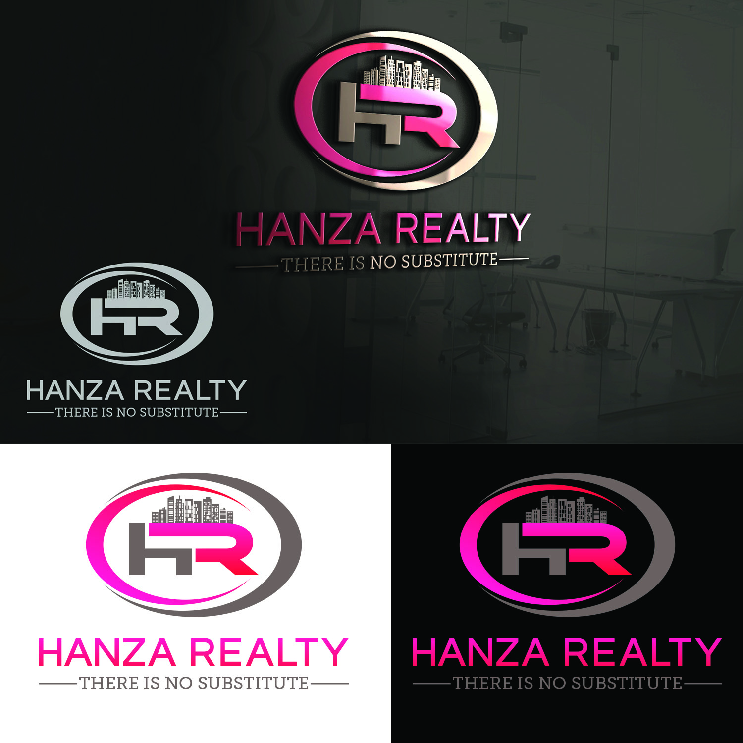 Logo Design by Umair ahmed Iqbal - Entry No. 318 in the Logo Design Contest Logo Design for Hanza Realty.