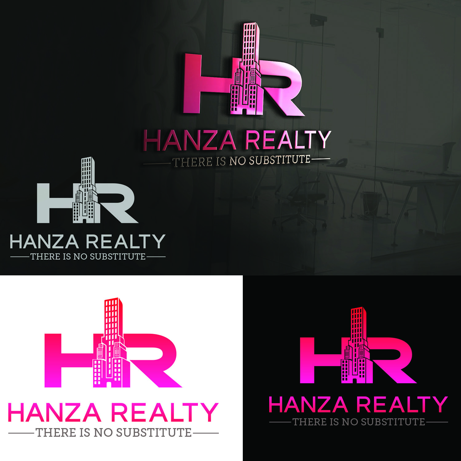 Logo Design by Umair ahmed Iqbal - Entry No. 319 in the Logo Design Contest Logo Design for Hanza Realty.