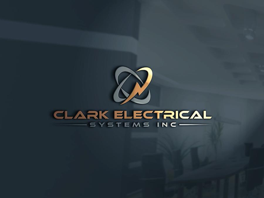 Logo Design by Abdur Rahman - Entry No. 234 in the Logo Design Contest Artistic Logo Design for Clark Electrical Systems Inc..