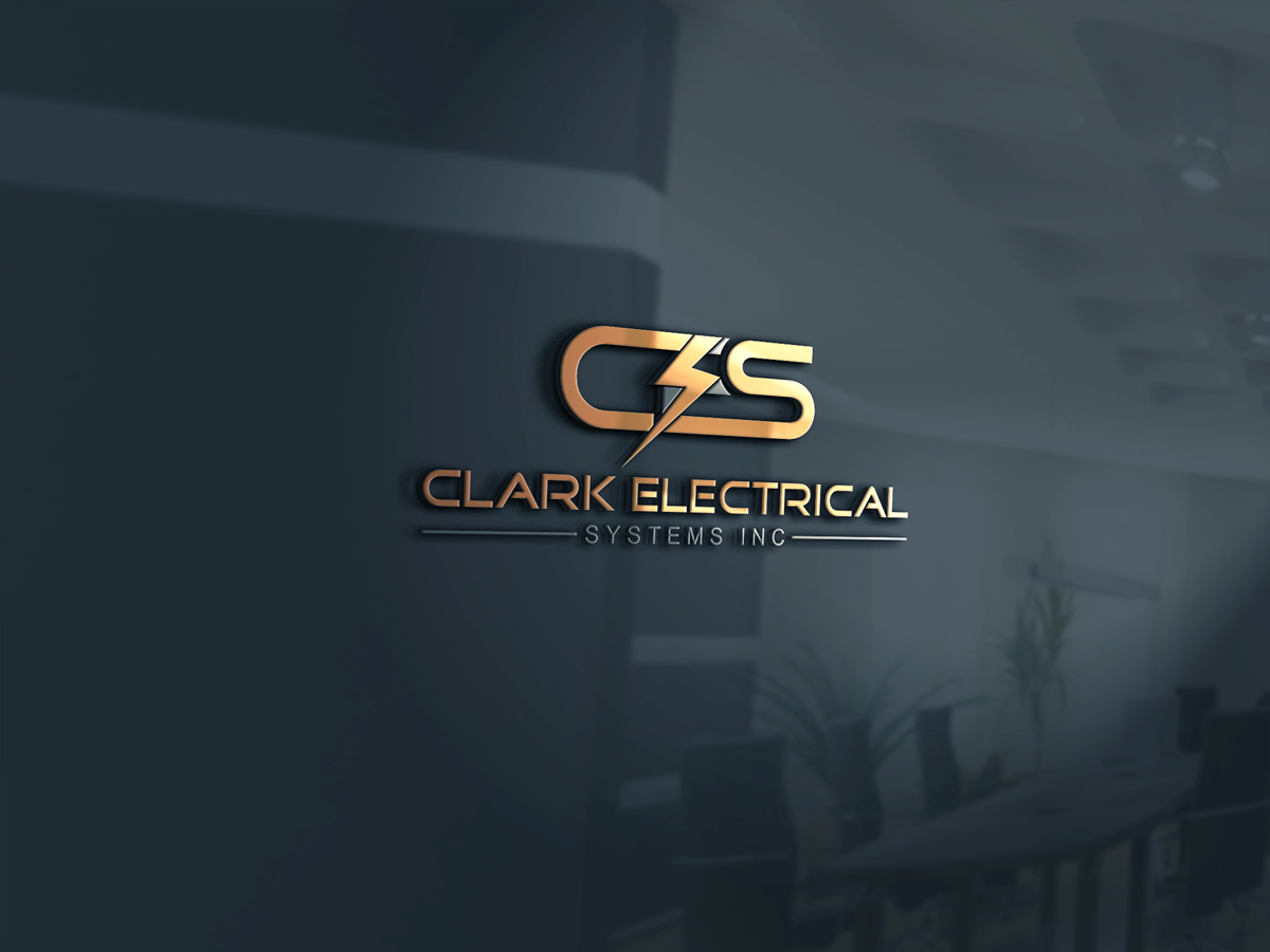 Logo Design by Kamal Hossain - Entry No. 236 in the Logo Design Contest Artistic Logo Design for Clark Electrical Systems Inc..
