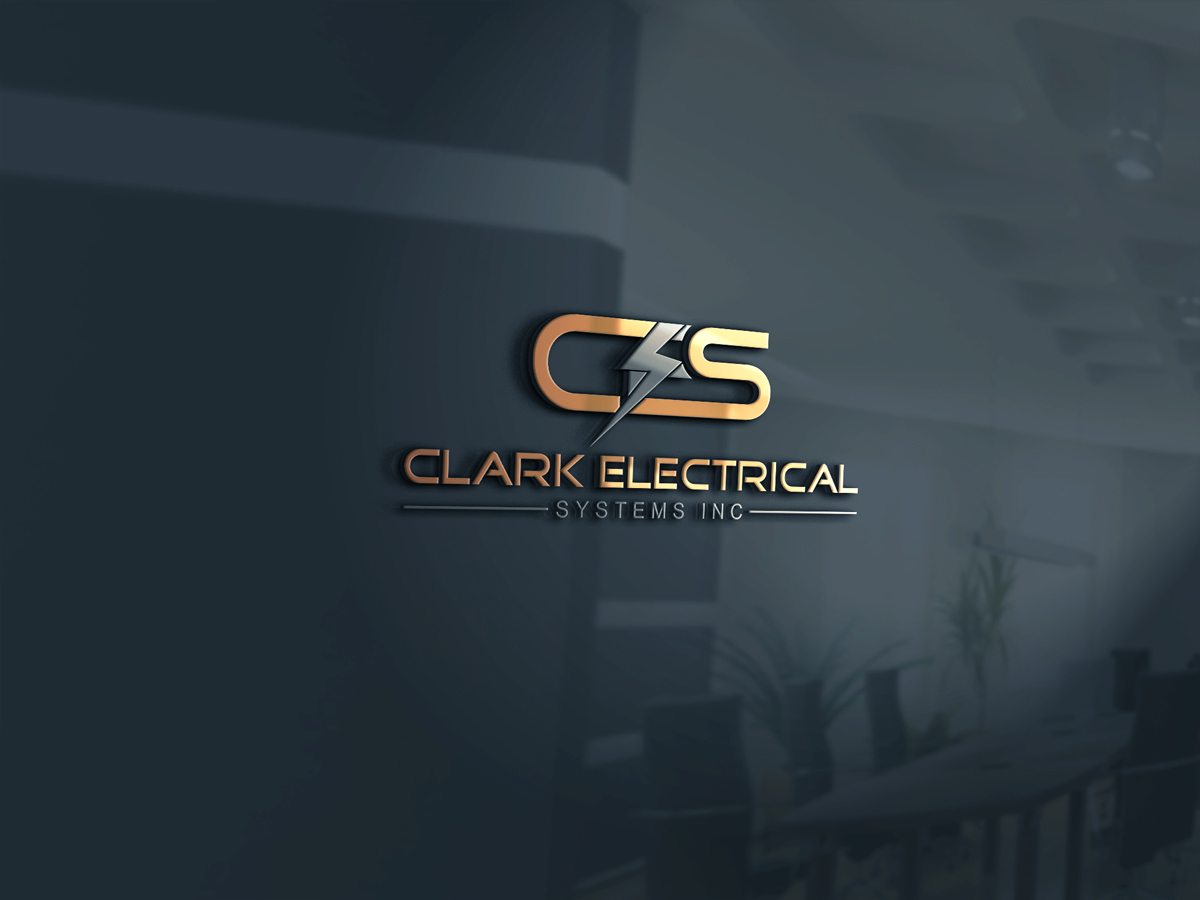 Logo Design by Kamal Hossain - Entry No. 237 in the Logo Design Contest Artistic Logo Design for Clark Electrical Systems Inc..