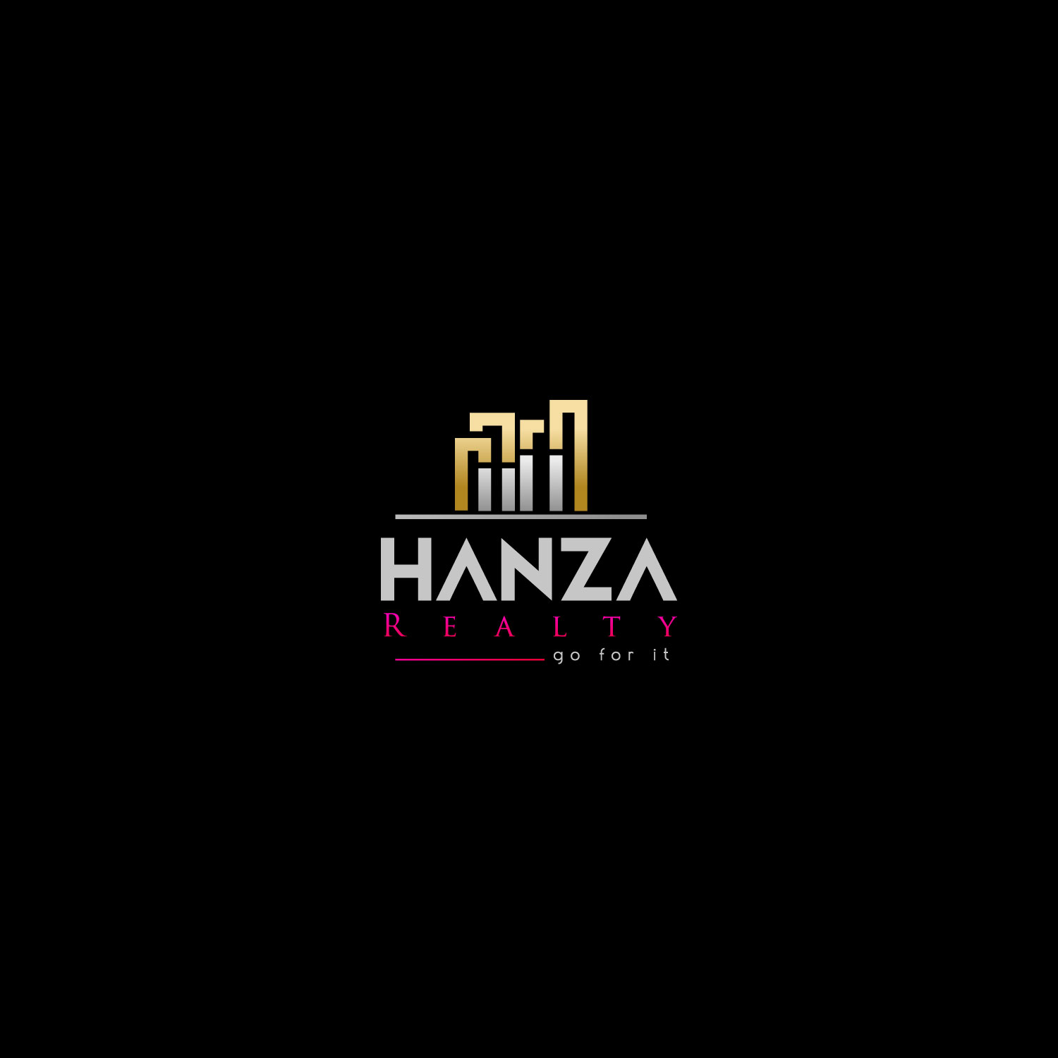 Logo Design by M h Rubel - Entry No. 326 in the Logo Design Contest Logo Design for Hanza Realty.