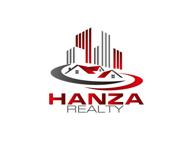 Logo Design by Private User - Entry No. 334 in the Logo Design Contest Logo Design for Hanza Realty.