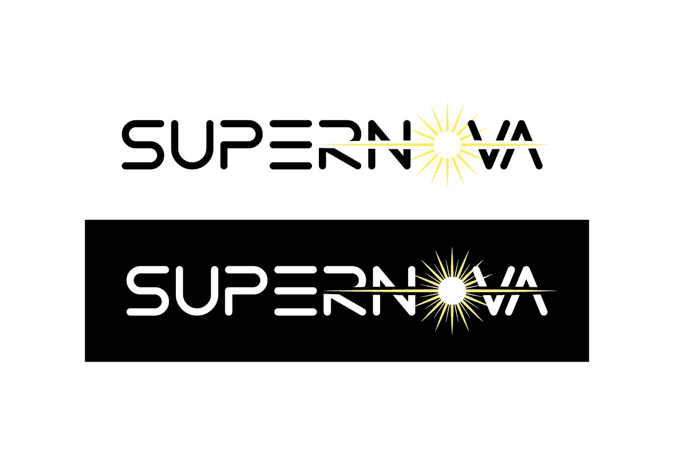 Logo Design by Florian Lagadic - Entry No. 253 in the Logo Design Contest Creative Logo Design for Supernova.