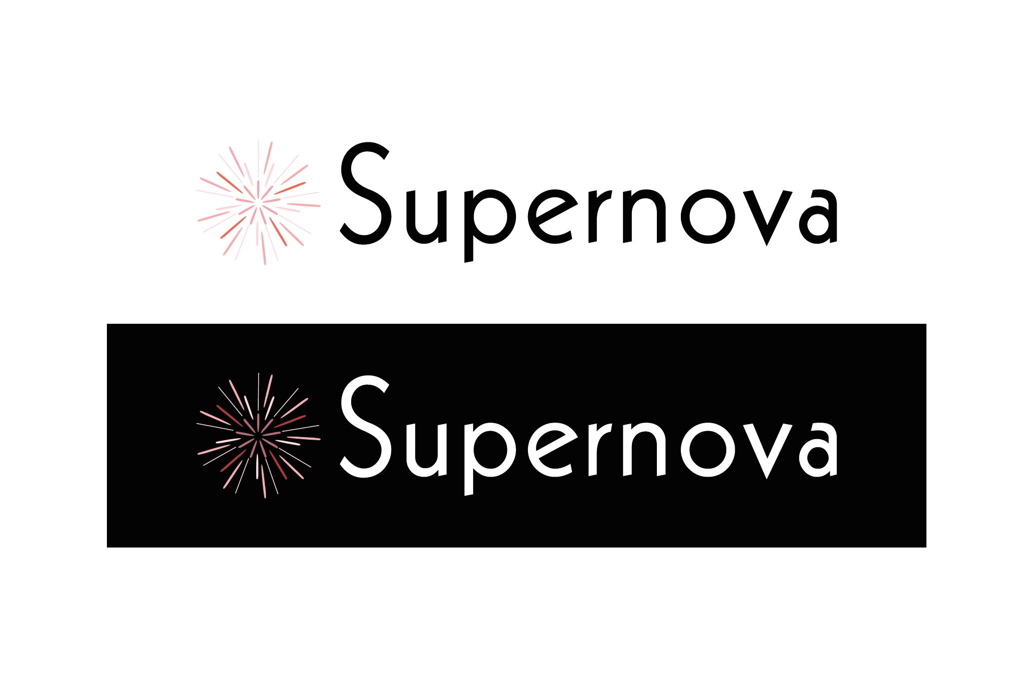 Logo Design by Florian Lagadic - Entry No. 256 in the Logo Design Contest Creative Logo Design for Supernova.