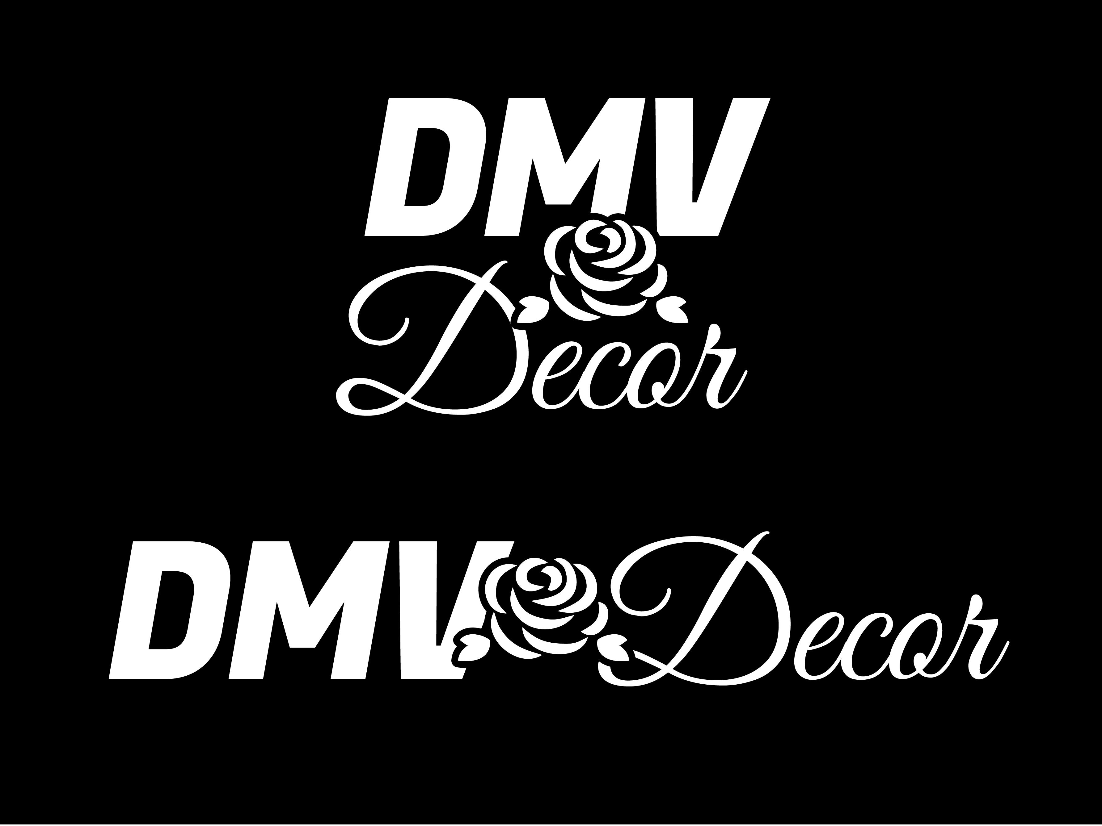 Logo Design by Rob King - Entry No. 20 in the Logo Design Contest dmvdecor Logo Design.