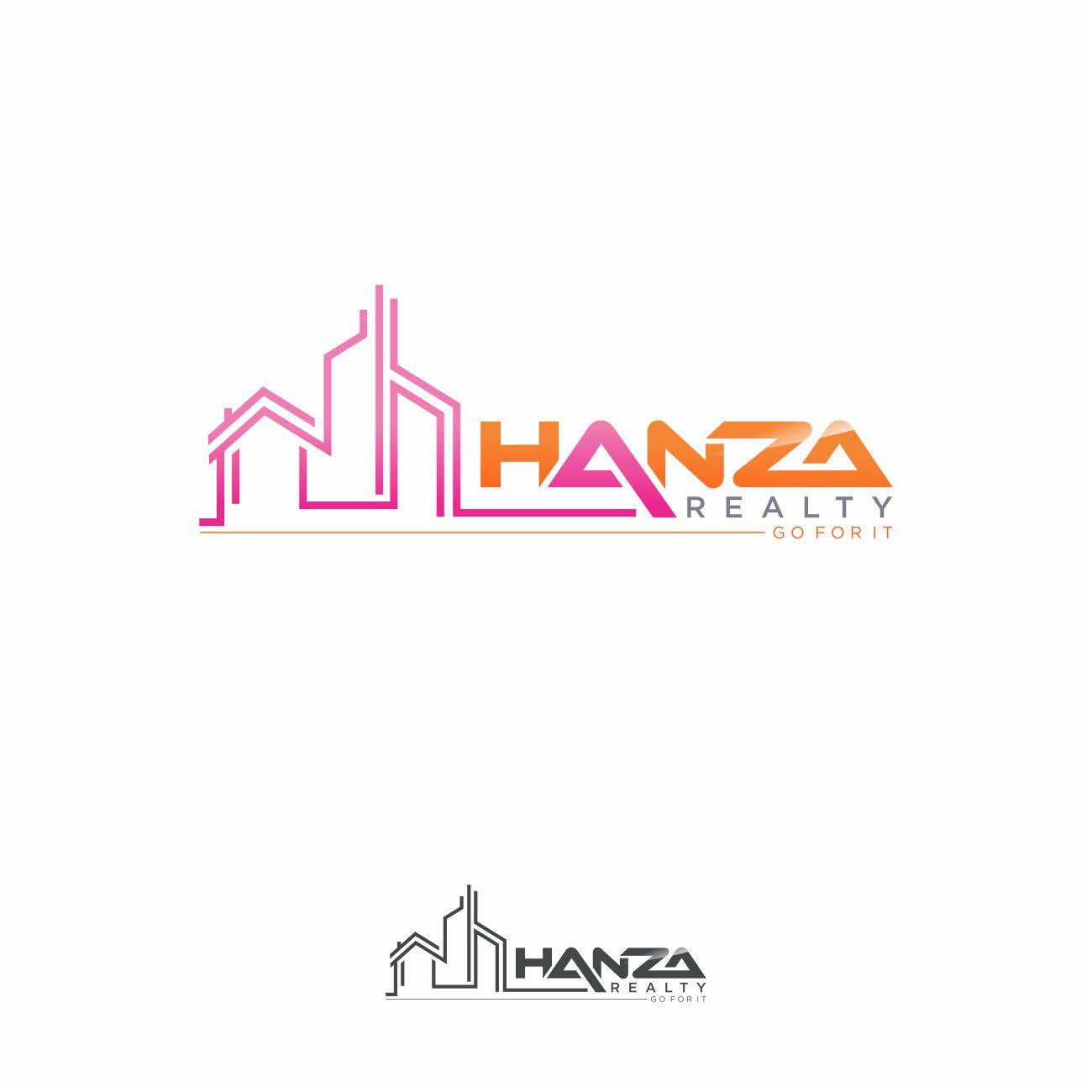 Logo Design by RasYa Muhammad Athaya - Entry No. 346 in the Logo Design Contest Logo Design for Hanza Realty.