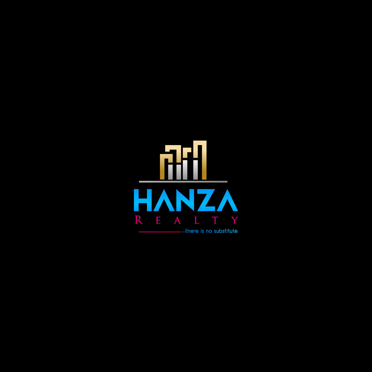 Logo Design by M h Rubel - Entry No. 356 in the Logo Design Contest Logo Design for Hanza Realty.