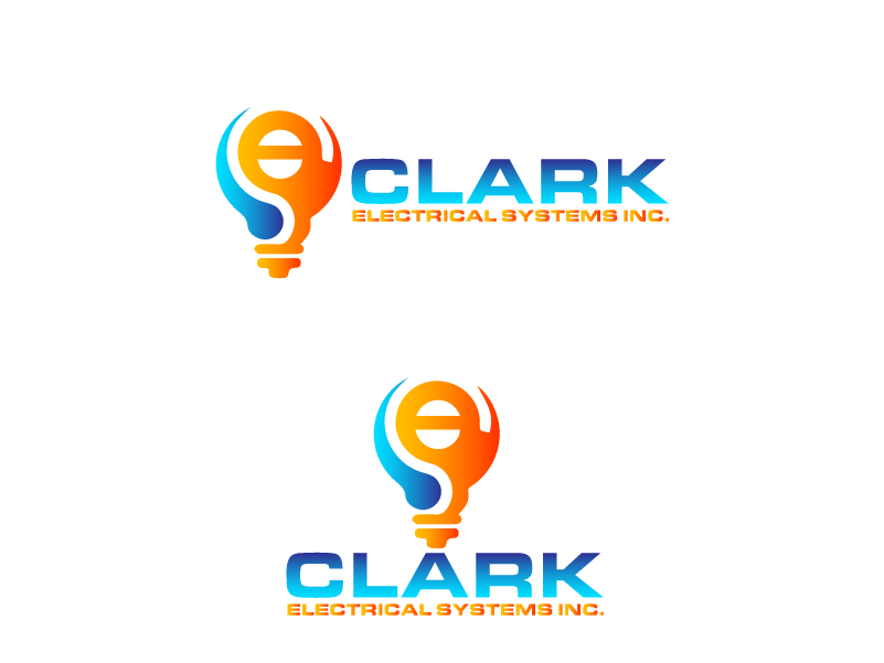 Logo Design by Private User - Entry No. 252 in the Logo Design Contest Artistic Logo Design for Clark Electrical Systems Inc..